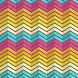 Modello geometrico d'annata dell'arcobaleno variopinto stupefacente Fotografia Stock Libera da Diritti