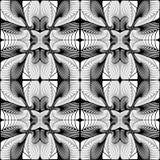Modello geometrico decorativo senza cuciture di progettazione Immagine Stock