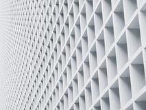 Modello geometrico dei dettagli di architettura del pannello del cemento fotografia stock