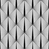 Modello geometrico del diamante senza cuciture di progettazione Fotografie Stock