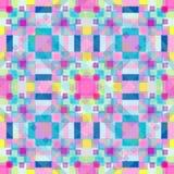 Modello geometrico del fondo colorato estratto Immagini Stock