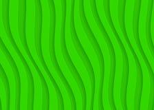 Modello geometrico del Libro Verde, modello astratto del fondo per il sito Web, insegna, biglietto da visita, invito Fotografia Stock
