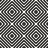 Modello geometrico del rombo quadrato senza cuciture royalty illustrazione gratis