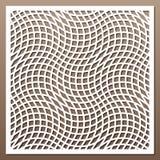 Modello geometrico dell'ornamento Fotografie Stock