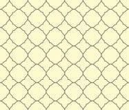 Modello geometrico dell'ornamento di arabesque Fotografia Stock Libera da Diritti