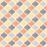 Modello geometrico della maglia senza cuciture dell'ornamento Fotografia Stock