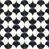 Modello geometrico della maglia senza cuciture dell'ornamento Fotografie Stock