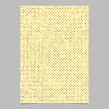 Modello geometrico della pagina del fondo del modello di punto Fotografia Stock