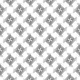 Modello geometrico della striscia senza cuciture di progettazione Immagini Stock