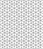 Modello geometrico delle linee d'intersezione nere Priorità bassa astratta per il vostro disegno Vettore illustrazione di stock