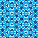 Modello geometrico delle stelle Fotografia Stock