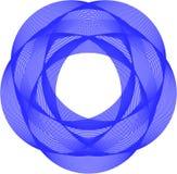 Modello geometrico di base fotografia stock libera da diritti