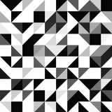 Modello geometrico di forme del triangolo Immagini Stock Libere da Diritti
