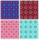 Modello geometrico di ripetizione Fotografia Stock