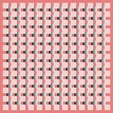 Modello geometrico di vettore con i quadrati e le bande royalty illustrazione gratis