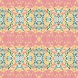 Modello geometrico di vettore con i triangoli diagonali porpora e rosa Struttura astratta senza cuciture per le carte da parati e Immagini Stock