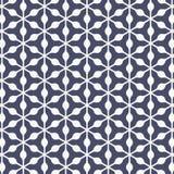 Modello geometrico di vettore struttura alla moda moderna Ripetizione flora astratta e del fondo astratto dell'elemento del trian illustrazione vettoriale