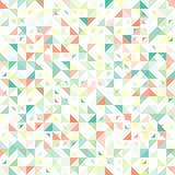 Modello geometrico e d'annata senza cuciture con Fotografie Stock Libere da Diritti