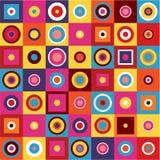 Modello geometrico - fondo astratto Fotografie Stock