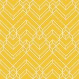 Modello geometrico giallo & beige astratto di Chevron Fotografia Stock Libera da Diritti