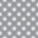 Modello geometrico monocromatico senza cuciture di progettazione Immagini Stock