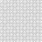 Modello geometrico nero Immagine Stock