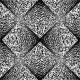 Modello geometrico non colorato senza cuciture di progettazione Fotografie Stock