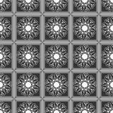 Modello geometrico, quadrato grigio Fotografie Stock Libere da Diritti