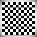 Modello geometrico a quadretti Modello non colorato astratto con lo squ illustrazione vettoriale