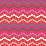 Modello geometrico rosa variopinto senza cuciture con le bande Fotografia Stock