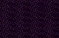 Modello geometrico scuro astratto dei prismi Struttura di griglia della geometria Il fiore del prisma calcola il fondo Maro rosso Immagine Stock