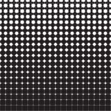 Modello geometrico senza cuciture astratto dalle figure delle dimensioni differenti illustrazione di stock