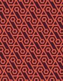 Modello geometrico senza cuciture astratto fatto degli esagoni - vector eps8 Immagini Stock
