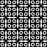 Modello geometrico senza cuciture in bianco e nero Fotografia Stock