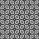 Modello geometrico senza cuciture in bianco e nero Immagine Stock Libera da Diritti