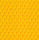 Modello geometrico senza cuciture con i favi royalty illustrazione gratis