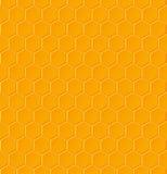 Modello geometrico senza cuciture con i favi illustrazione vettoriale