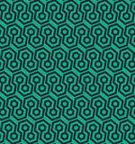 Modello geometrico senza cuciture con le forme esagonali - vector eps8 Fotografie Stock Libere da Diritti