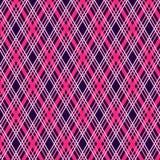 Modello geometrico senza cuciture del plaid di tartan Immagini Stock
