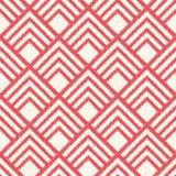 Modello geometrico senza cuciture della maglia del rombo royalty illustrazione gratis