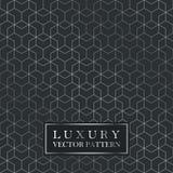 Modello geometrico senza cuciture di lusso - struttura di pendenza di griglia royalty illustrazione gratis
