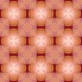 modello geometrico senza cuciture di Rosa-Brown Immagini Stock Libere da Diritti