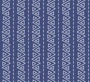 Modello geometrico senza cuciture di struttura Immagini Stock