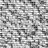 Modello geometrico senza cuciture di vettore astratto in bianco e nero Immagine Stock Libera da Diritti