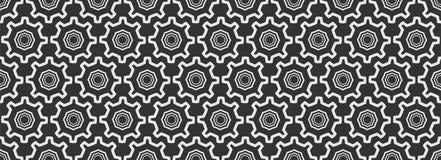 Modello geometrico senza cuciture, fondo astratto per la vostra progettazione, colore scuro, vettore fotografia stock