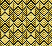 Modello geometrico senza cuciture nello stile di art deco Fotografie Stock Libere da Diritti