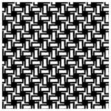 Modello geometrico senza cuciture nero con effetto di lerciume Fotografie Stock