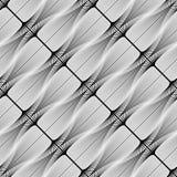 Modello geometrico a strisce senza cuciture di progettazione Fotografie Stock Libere da Diritti