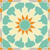 Modello geometrico tradizionale islamico Immagine Stock Libera da Diritti