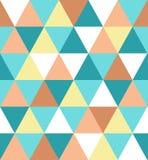 Modello geometrico triangolare di lusso elegante Illustrazione di riserva astratta di vettore per progettazione di superficie, co illustrazione di stock